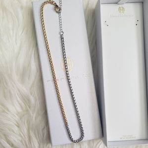 NWT House of Harlow Two Tone Necklace!